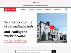 First notification - Printing of McGill Cheques to be Outsourced
