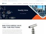 Bar Stock Needle Valve, stainless steel Needle Valve Manufacturer Supplier India, Needle Valve Tube