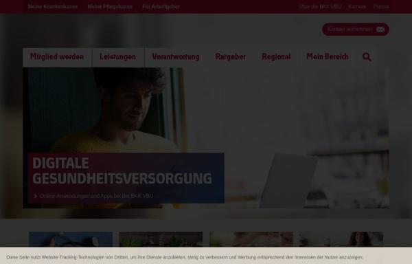 Vorschau von www.mdbkk.de, Mitteldeutsche Betriebskrankenkasse (BKK MD)