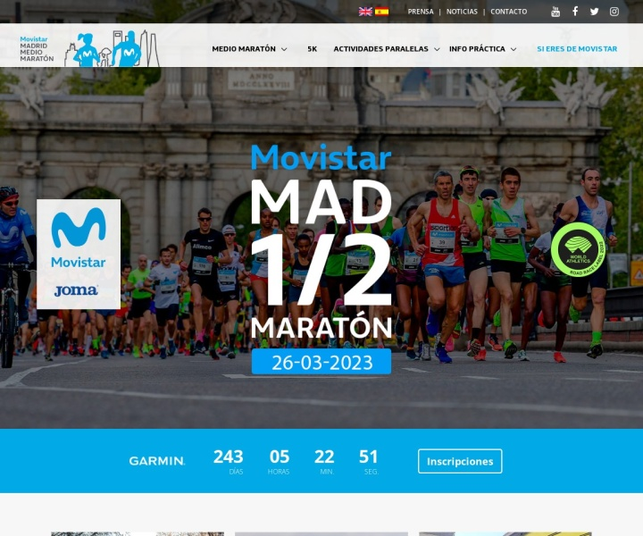 There is no page preview available for ASICS MEDIO MARATON VILLA DE MADRID 2014 at this moment. Please try again later.