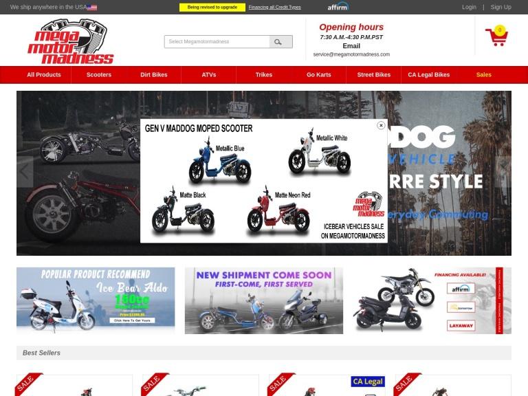 Mega Motor Madness coupons code screenshot