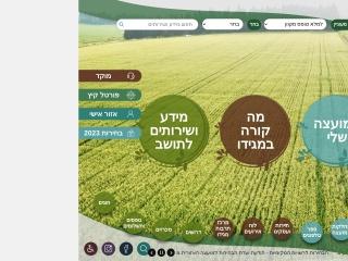 Screenshot for megido.org.il
