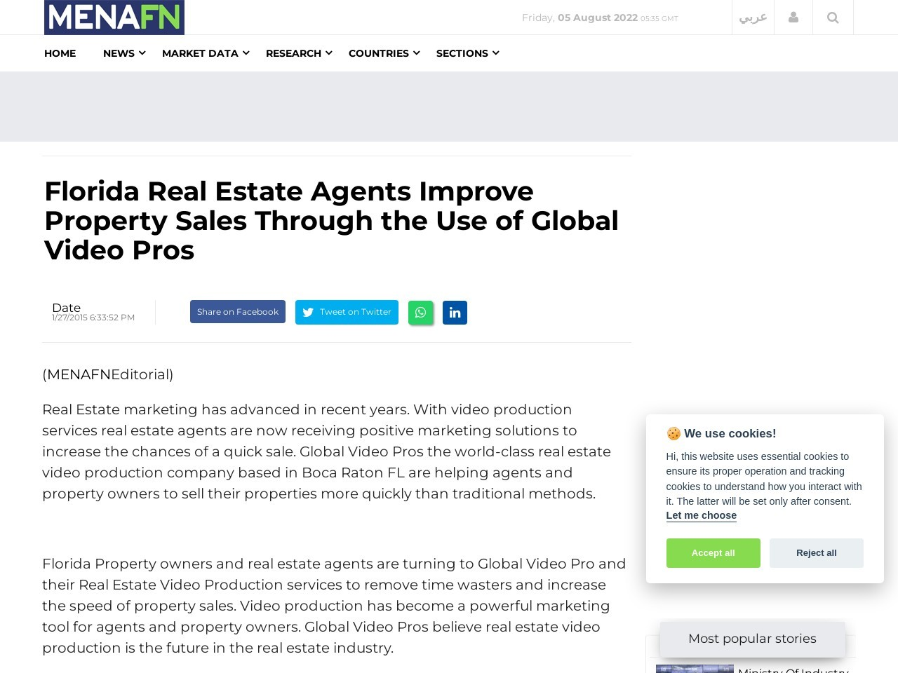 Florida Real Estate Agents Improve Property Sales Through the Use of Global …