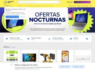 Captura de pantalla para mercadolibre.com.ar