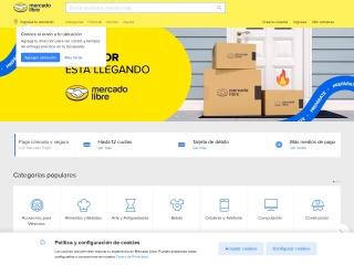 Captura de pantalla para mercadolibre.com.ec