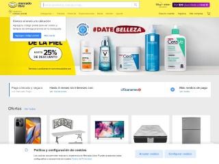Captura de pantalla para mercadolibre.com.mx
