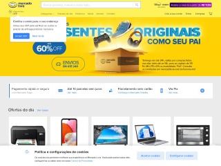 Screenshot for mercadolivre.com