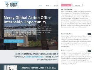Screenshot for mercyworld.org
