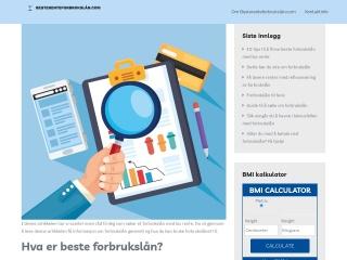 Screenshot for merkalt.no