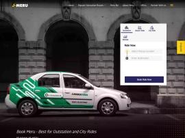 Online store Meru Cabs