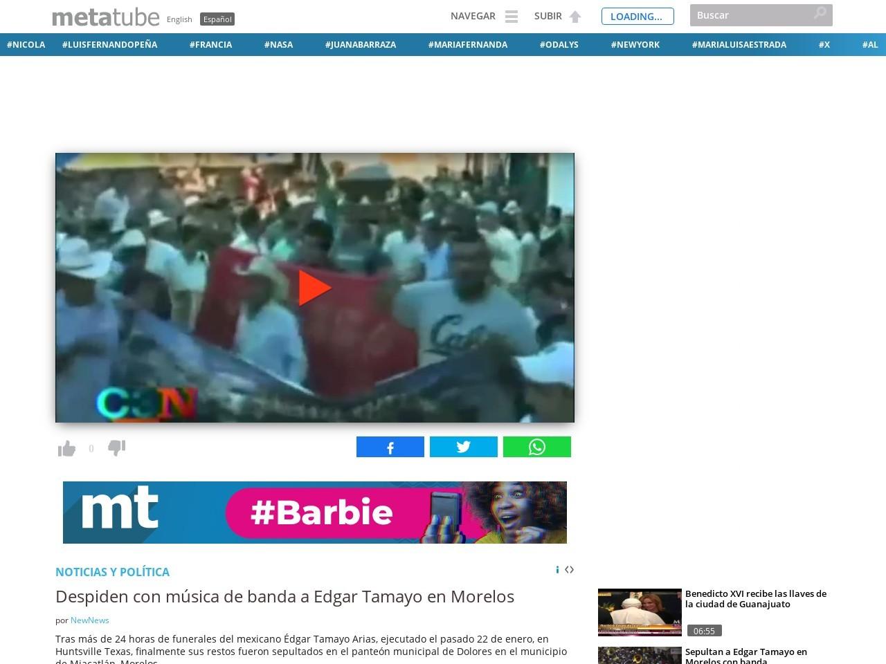 Despiden con música de banda a Edgar Tamayo en Morelos …