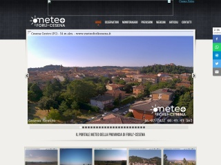 screenshot meteoforli.it