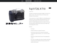 Fuji X-T10 & X-T20 — Metro Case