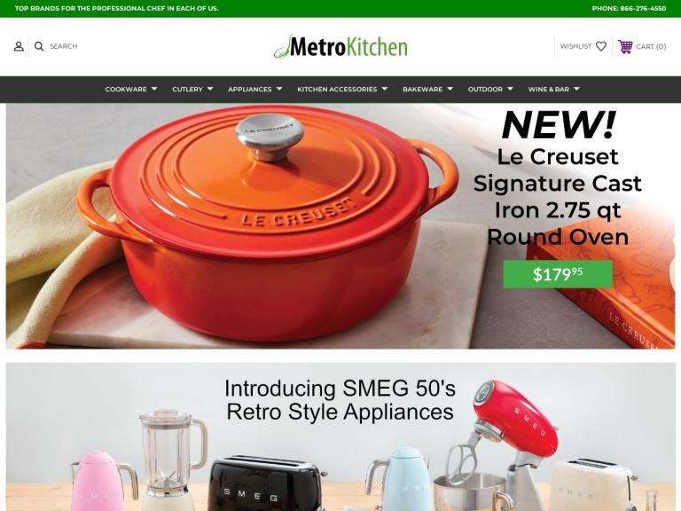 MetroKitchen.com Coupon Codes