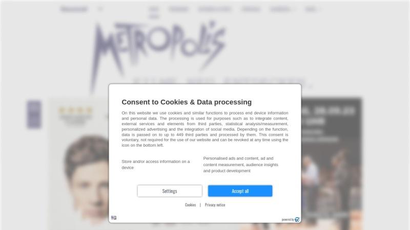 www.metropolis-bochum.de Vorschau, Metropolis Filmtheater