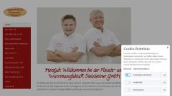 www.metzgerei-steinleitner.de Vorschau, Metzgerei und Partyservice Steinleitner