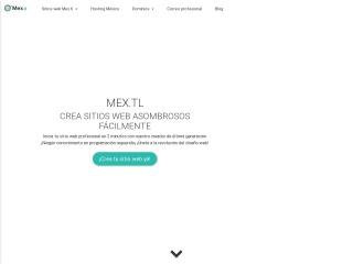 Captura de pantalla para mex.tl