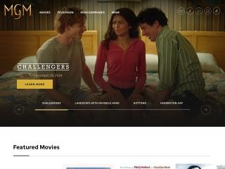 Screenshot for mgm.com