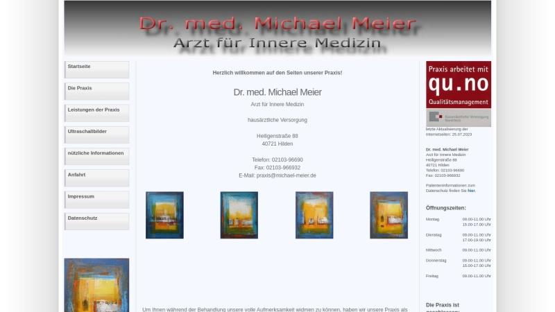 www.michael-meier.de Vorschau, Meier, Dr. med. Michael