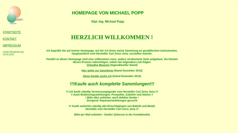 www.michael-popp.de Vorschau, Bauingenieurbüro Popp