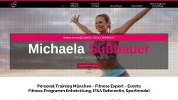 www.michaela-suessbauer.de Vorschau, Michaela Süßbauer - Personal Training und Sport Model