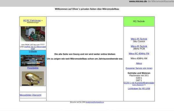 Vorschau von www.micmo.de, RC Mikromodellbau