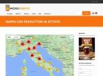Mappa con elenco completo dei produttori in attività .:: Microbirrifici.org ::.