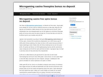 www.microgamingcasinofreespins.n.nu