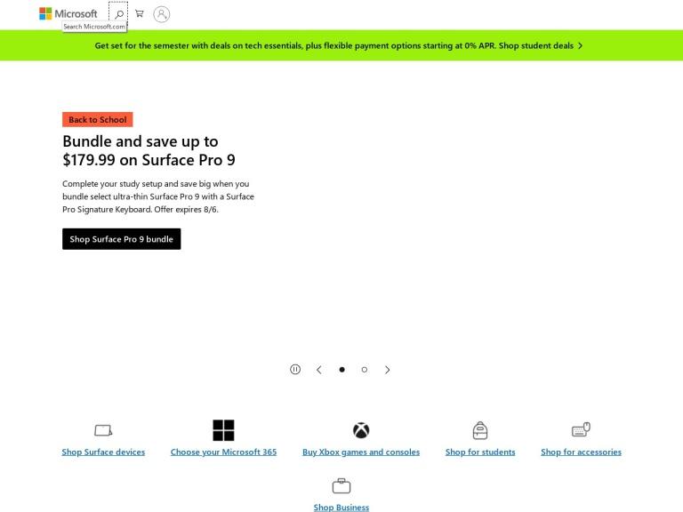 Microsoft Coupon Codes screenshot