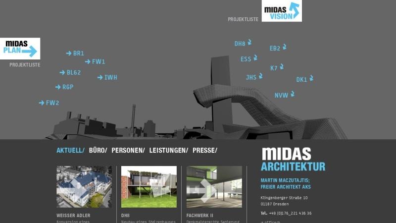 www.midas-architektur.de Vorschau, Clemenz, Maczutajtis, Pührer GbR - Midas Architektur