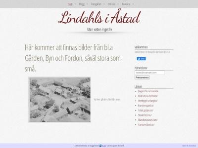 www.mikaellindahloland.n.nu