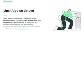 Captura de pantalla para milanuncios.com
