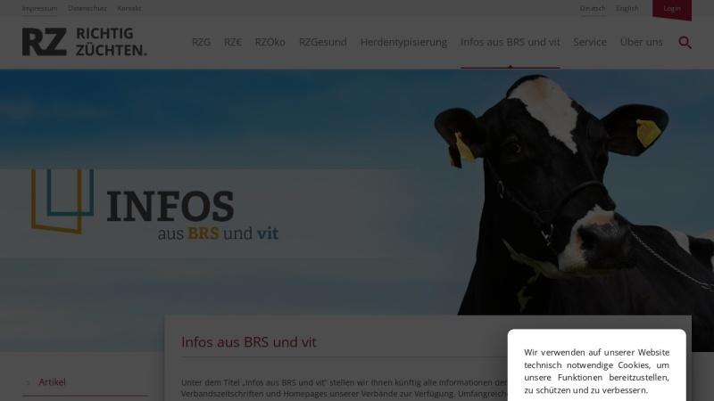 www.milchrind.de Vorschau, Milchrind Online
