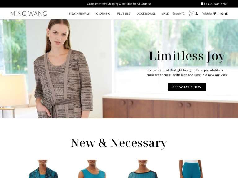 Ming Wang Knits-Ming Wang Knits- Buy 1 pair of pants, get the second pair 50% off with coupon code PANTSPLEASE