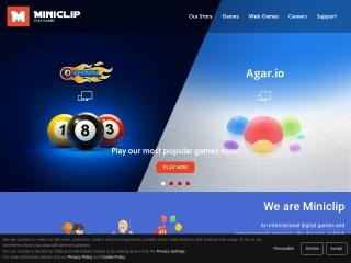 Captura de pantalla para miniclip.com