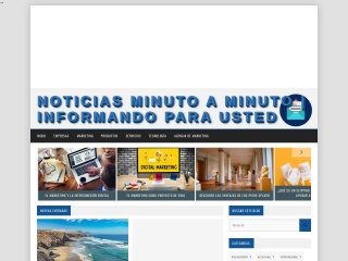 Captura de pantalla para minutoaminuto.com.ve