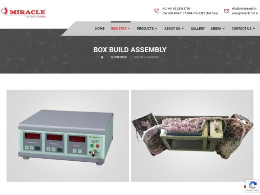 Electronic Box Assemblies in India