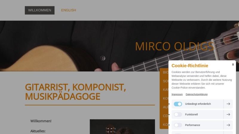 www.mirco-oldigs.com Vorschau, Oldigs, Mirco
