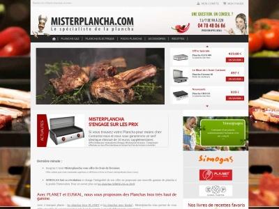 Mister Plancha : achat de planchas