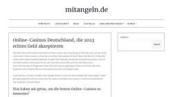www.mitangeln.de Vorschau, mitangeln.de
