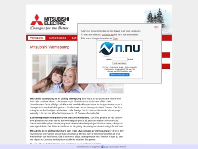 www.mitsubishivarmepump.n.nu