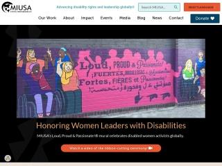 Screenshot for miusa.org