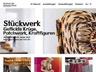 Screenshot der Website mkb.ch
