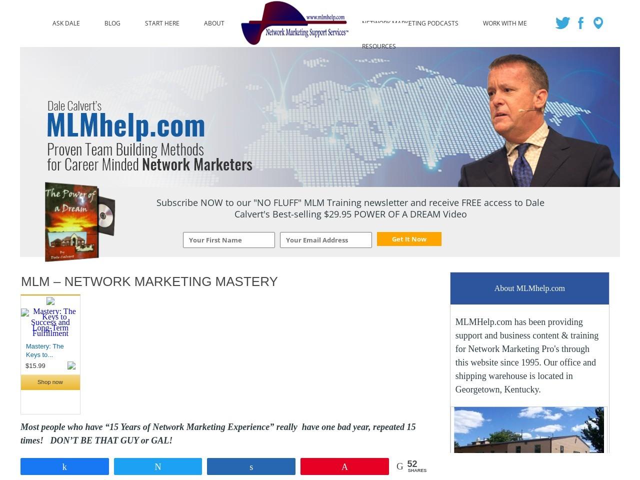 MLM – Network Marketing Mastery |