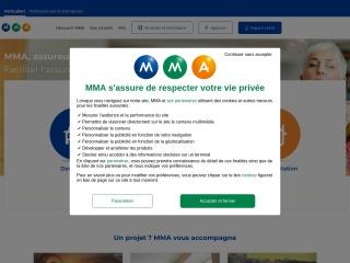 Capture d'écran pour mma.fr