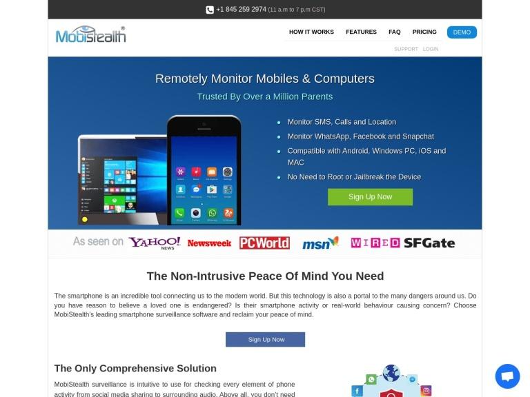 Mobistealth Coupon Codes screenshot