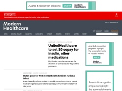 Healthcare business news, research, data and events from