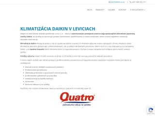 Screenshot stránky mojaklima.sk