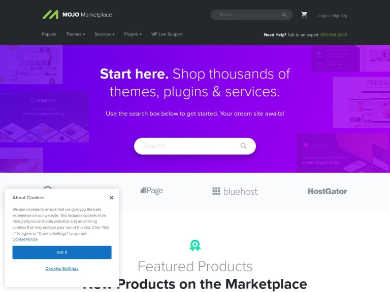 Mojo Marketplace screenshot