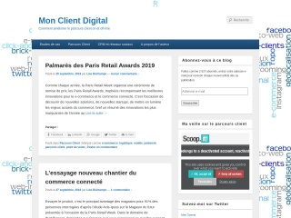 Capture d'écran pour monclientdigital.fr